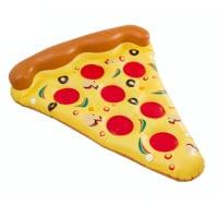 luftmadrass som en pizzaslice