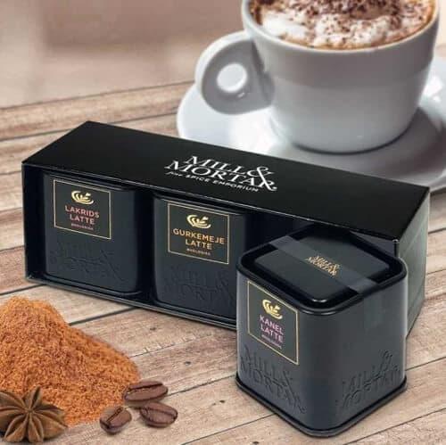 Ekologiska lattekryddor till kaffe - Lakrits, Gurkmeja & Kanel