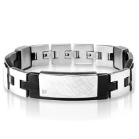 armband Inori identity steel black