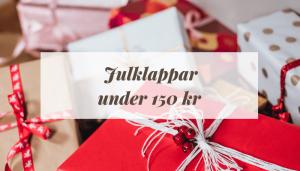 Billiga julklappar under 150 kronor