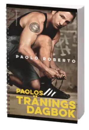 Julklapp under 150 kr - Träningsdagbok med Paolo Roberto