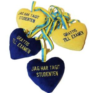 Ett hjärta att hänga om studentens hals