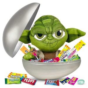 Påskägg med Yoda från Star Wars