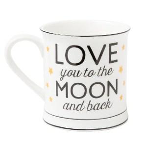 Kaffemugg - Love you to the moon and back