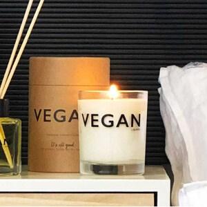 veganskt doftljus