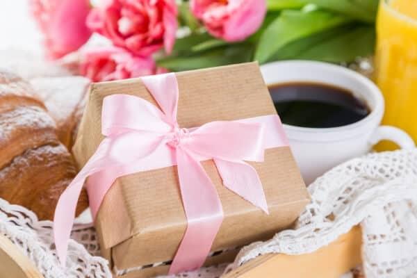 Påhittiga presenter med kaffe