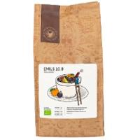 Kaffebönor i present från Bergstrands Kafferosteri