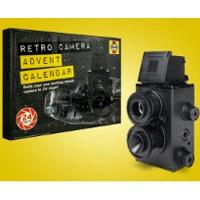 Adventskalender - bygg ihop en fullt fungerande retro analog kamera