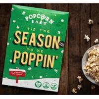 Adventskalender med vegansk popcorn