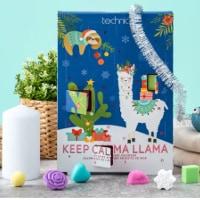 Badkalender Keep Calma Llama som julkalender