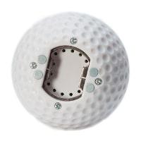 Kapsylöppnare som en golfboll