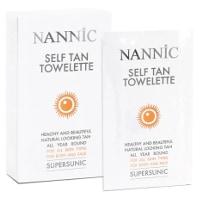 Nannic Supersunic Self Tan Towelette 8-pack