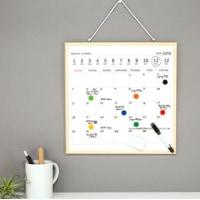 Månadsplanerare - Magnetisk Whiteboard Väggkalender